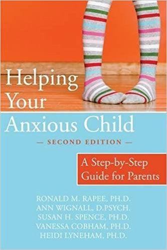 Helping Your Anxious Child book cover