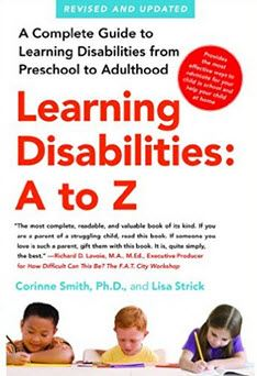 Learning Disabilities A to Z cover image
