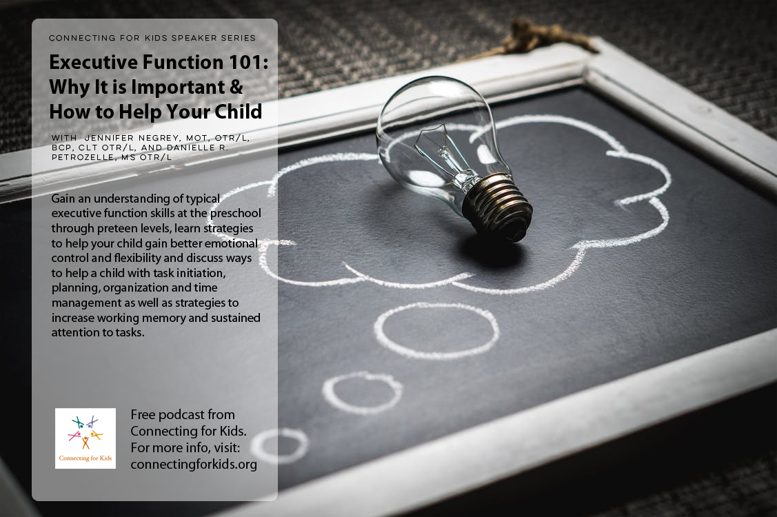 Executive Function 101  Free podcast form Connecting for Kids
